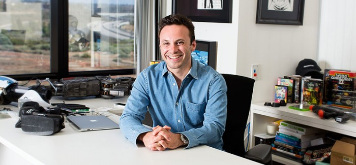 Brendan Iribe, previous officer for Gaikai and Scaleform, takes the Position of CEO for Oculus VR