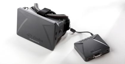 Oculus Rift developer kit (DK1)
