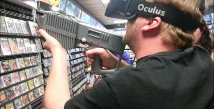 Oculus Rift Gun Peripheral