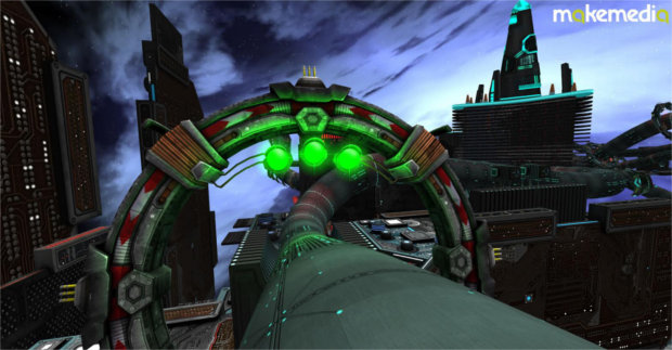 MakeMedia Delivers Sci-Fi Racer Experience with Oculus Rift Support at EPC China