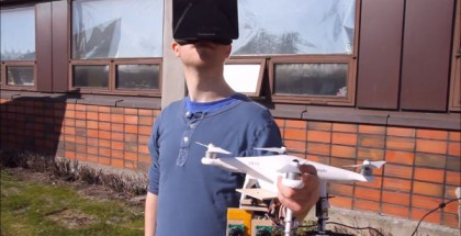 Oculus Rift-Controlled Drone Provides Natural Bird's Eye View