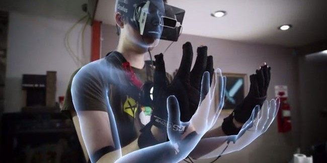 Control VR Gloves for the Oculus Rift