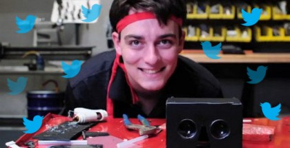 Palmer Luckey Vows to Start Tweeting More