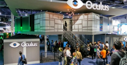 Oculus Stands Tall at CES 2015 with Two Story Booth