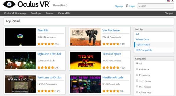 Oculus Share Hits Milestone with 2 Million Unique Downloads