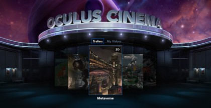'Oculus Cinema' Will Soon be a More Social VR Experience