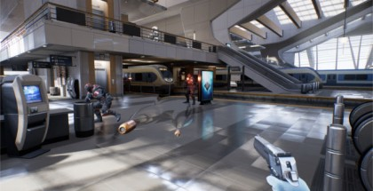 Epic Reveals 'Bullet Train' VR Demo Using Oculus Touch Motion Controllers