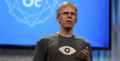 Carmack's 'Open Call' for Oculus Connect Keynote Topics