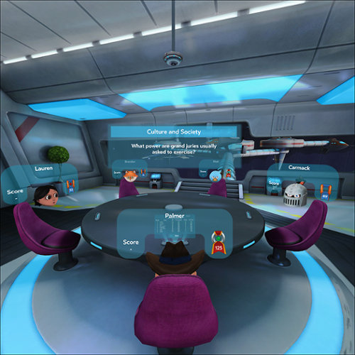 Oculus Social Triva with Friends