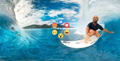 Facebook Brings Reaction Emojis to 360-degree VR Videos