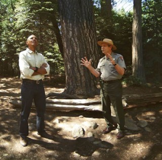 Oculus Debuts 360° Video of President Obama Touring Yosemite National Park
