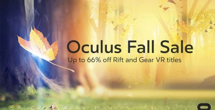 Oculus Fall Sale Begins with Discounts Up to 66% Off Rift and Gear VR Titles