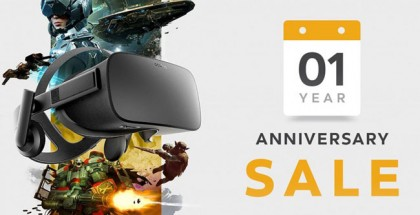 Oculus Celebrates One-Year Rift Anniversary with Huge Sale