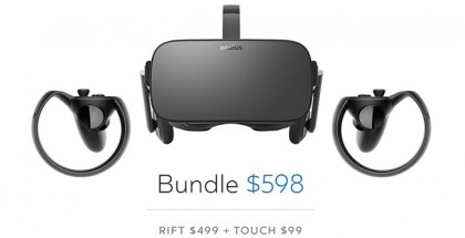 Oculus Announces Major Price Drop for Rift and Touch
