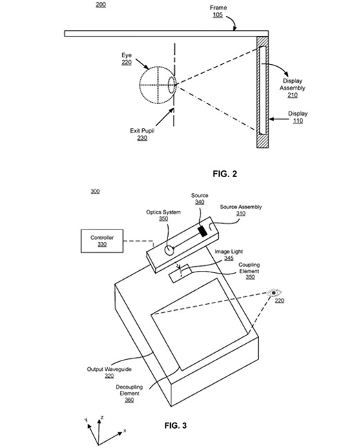 Oculus Patent Reveals New Details For Its Pair Of Augmented Reality