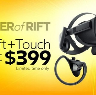 Oculus is Extending $399 Summer Sale of Rift and Touch Bundle