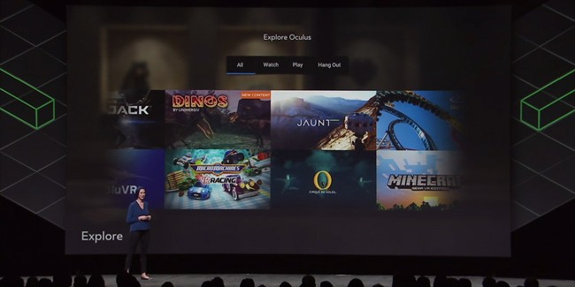 Oculus Opens Explore API to Gear VR Developers, Coming to Rift in 2018