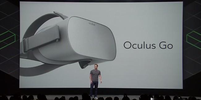 Oculus Announces $199 'Oculus Go' Standalone VR Headset