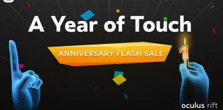 Oculus Celebrates One-Year Touch Anniversary with 24-Hour Flash Sale