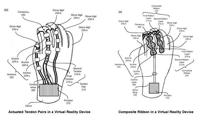 oculus glove patents
