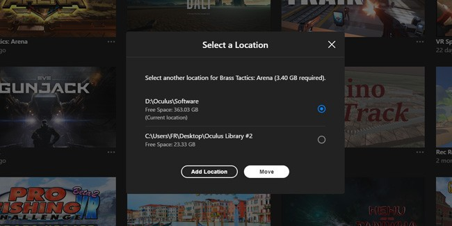 Oculus Rolls Out Rift 1.24 Software Update, Adds Feature to Move Apps