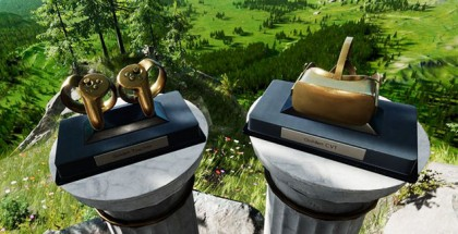 Early Rift Supporters Receive Special Edition Trophies for Oculus Home