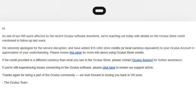 Oculus Store Credit