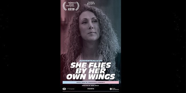 Authentically Us: She Flies By Her Own Wings