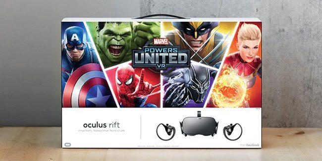 Oculus Announces Rift+Touch 'Marvel Powers United VR' Bundle for $399