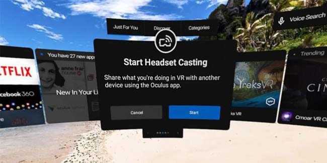 Oculus Go Can Now Screen Cast VR Sessions to Other Devices | Oculus