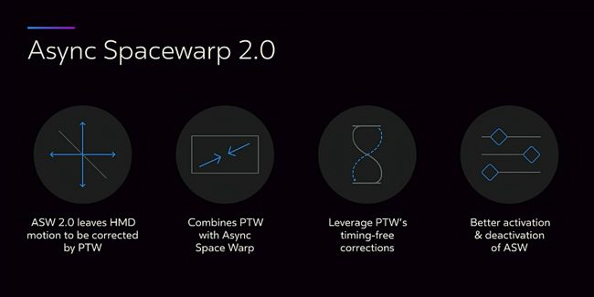 Oculus Releases Asynchronous Spacewarp (ASW) 2.0 for Oculus Rift