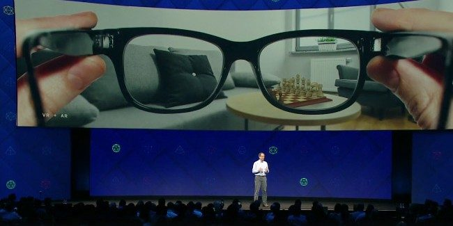 Facebook Reportedly Partners with Ray-Ban Parent Company for AR Smart Glasses