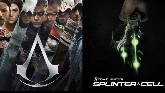 ubisoft assissin's creed and splinter cell for oculus