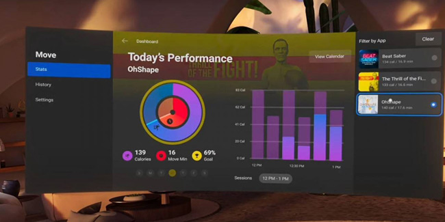 'Oculus Move' Fitness Tracking Feature Coming to Quest Later this Year